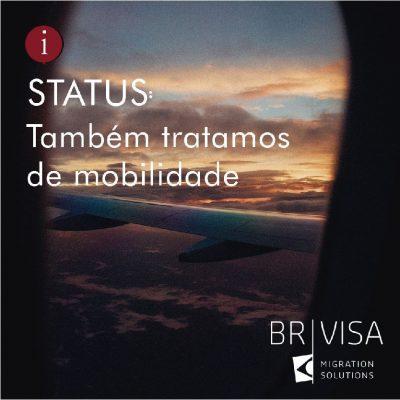 Seja bem-vinda, BR-Visa !