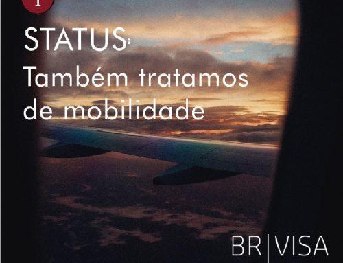 Seja bem-vinda, BR-Visa!